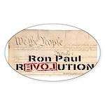 Ron Paul Preamble-C Oval Sticker (10 pk)