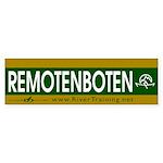 REMOTENBOTEN. Bumper Sticker