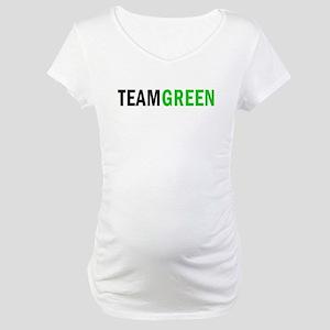 Team Green Maternity T-Shirt
