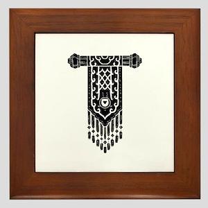 Art Deco Jewelry Framed Tile