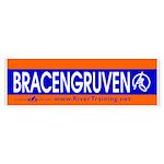 BRACENGRUVEN. Bumper Sticker