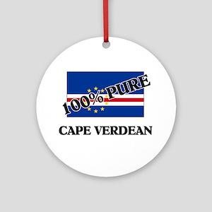 100 Percent CAPE VERDEAN Ornament (Round)