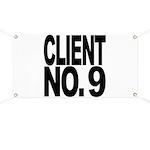 Client No. 9 Banner