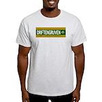 DRIFTENGRUVEN. Ash Grey T-Shirt