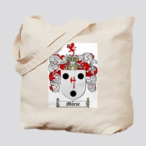 Morse Family Crest Tote Bag