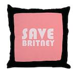 SAVE BRITNEY Throw Pillow
