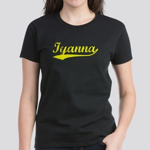 Vintage Iyanna (Gold) Women's Dark T-Shirt