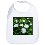 Field of Calla Lily Flowers Baby Bib