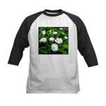 Field of Calla Lily Flowers Baseball Jersey