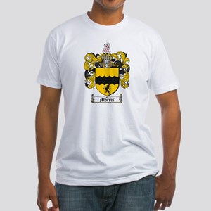 Morris Family Crest Fitted T-Shirt