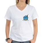 Forever Home Rescue Women's V-Neck T-Shirt