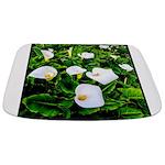 Field of Calla Lily Flowers Bathmat