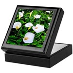 Field of Calla Lily Flowers Keepsake Box