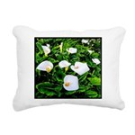 Field of Calla Lily Flowers Rectangular Canvas Pil