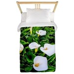 Field of Calla Lily Flowers Twin Duvet Cover