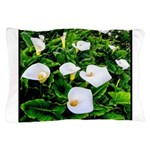Field of Calla Lily Flowers Pillow Case