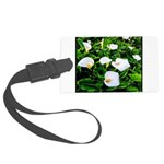Field of Calla Lily Flowers Large Luggage Tag