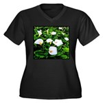 Field of Calla Lily Flowers Plus Size T-Shirt
