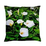 Field of Calla Lily Flowers Everyday Pillow