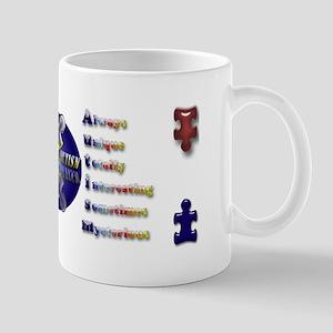 Let's Cure Autism Mug