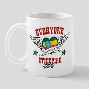 Everyone loves an Ethiopian girl Mug