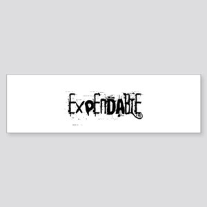 Expendable Bumper Sticker