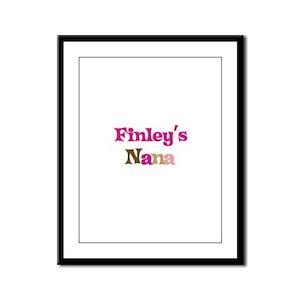 Finley's Nana Framed Panel Print