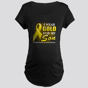 Gold For My Son 2 Maternity Dark T-Shirt