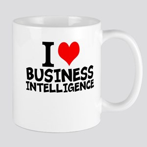 I Love Business Intelligence Mugs
