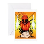 Hysteria/Hourglass Greeting Cards (Pk of 10)
