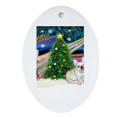 XmasStar/French BD (#1) Oval Ornament