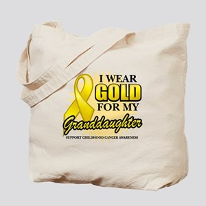 Gold For My Granddaughter Tote Bag