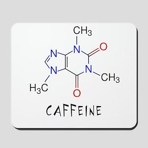 Caffeine molecule Mousepad