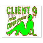 Client 9 From Outer Space Small Poster