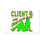 Client 9 From Outer Space Mini Poster Print