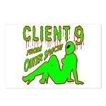 Client 9 From Outer Space Postcards (Package of 8)