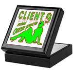 Client 9 From Outer Space Keepsake Box