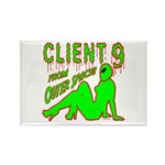 Client 9 From Outer Space Rectangle Magnet (100 pa