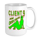Client 9 From Outer Space Large Mug