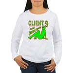Client 9 From Outer Space Women's Long Sleeve T-Sh