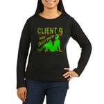 Client 9 From Outer Space Women's Long Sleeve Dark