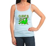 Client 9 From Outer Space Jr. Spaghetti Tank