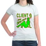 Client 9 From Outer Space Jr. Ringer T-Shirt