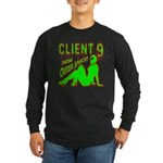 Client 9 From Outer Space Long Sleeve Dark T-Shirt