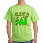 Client 9 From Outer Space Green T-Shirt