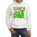 Client 9 From Outer Space Hooded Sweatshirt