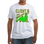 Client 9 From Outer Space Fitted T-Shirt