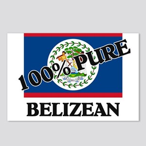 100 Percent BELIZEAN Postcards (Package of 8)