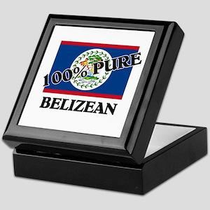 100 Percent BELIZEAN Keepsake Box
