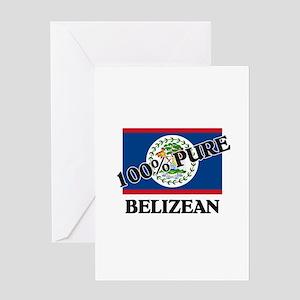 100 Percent BELIZEAN Greeting Card